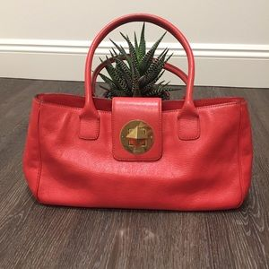 KATE SPADE / Authentic coral satchel purse